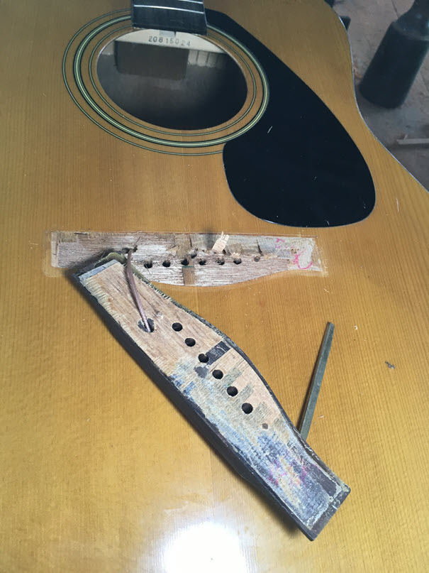 Guitar Repairs and Humidity
