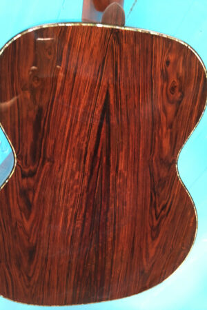 Cocobolo Back with Abalone Purfling