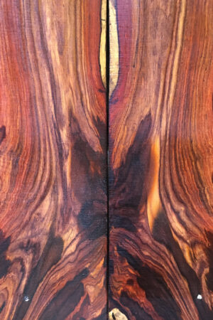 Cocobolo for Guitar Backs